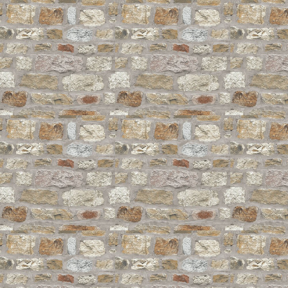 Country Stone Wallpaper - by Arthouse