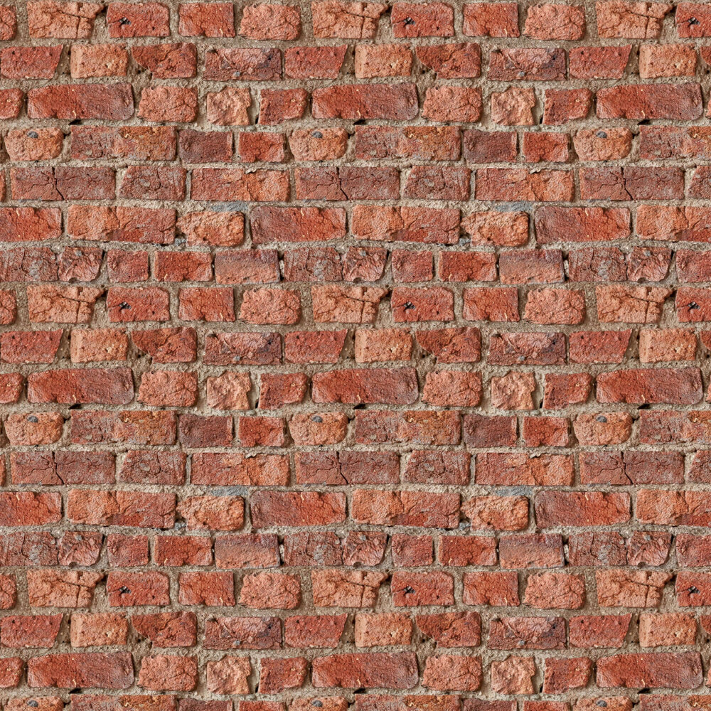 Urban Brick Wallpaper - Red - by Arthouse
