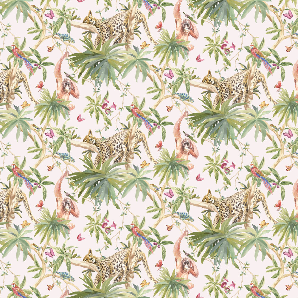 Samroze Wallpaper - Light Pink - by Albany