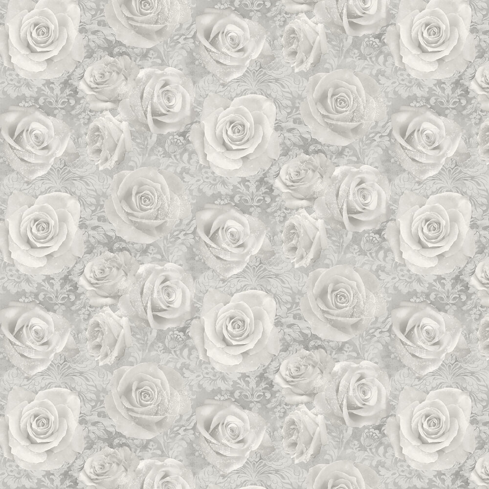 Reverie Wallpaper - Silver - by Arthouse