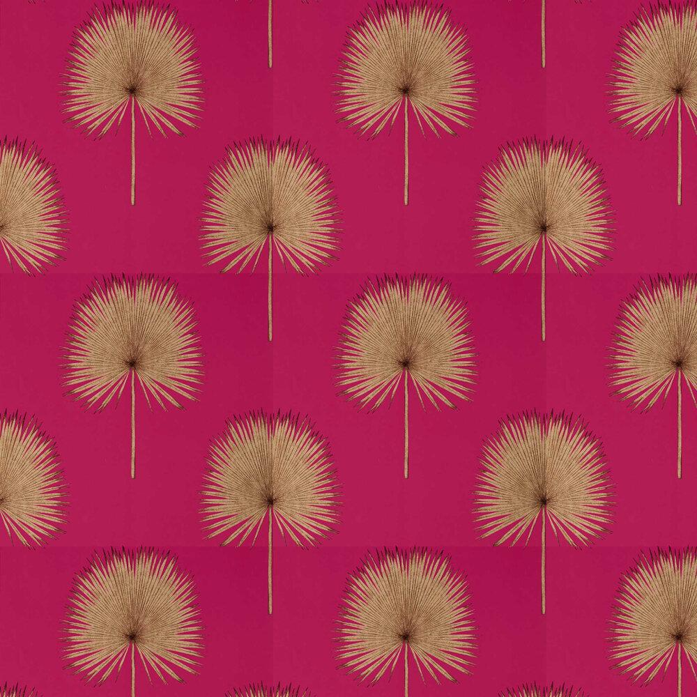 Fan Palm Wallpaper - Rhodera / Gilver - by Sanderson