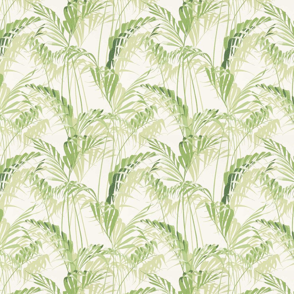 Sanderson Palm House Botanical Green Wallpaper - Product code: 216643