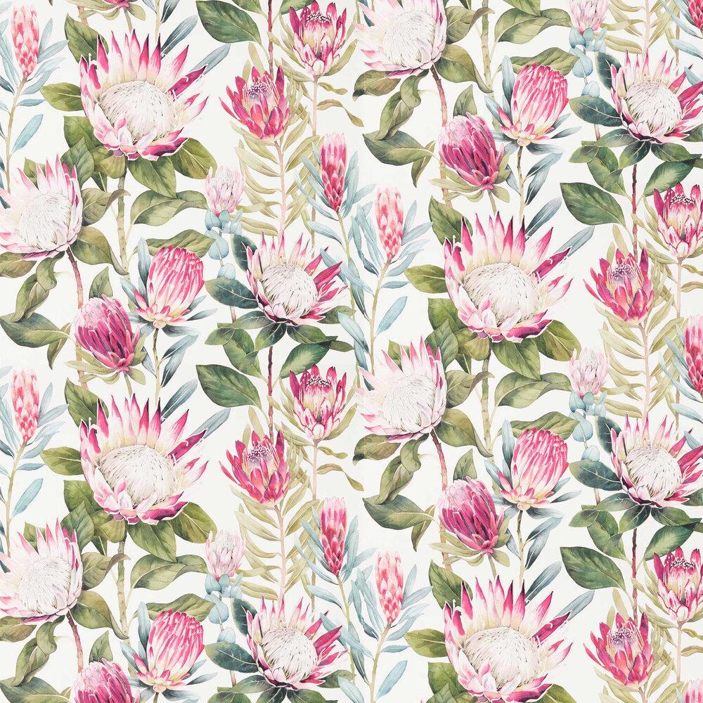 Sanderson King Protea Rhodera / Cream Wallpaper - Product code: 216646