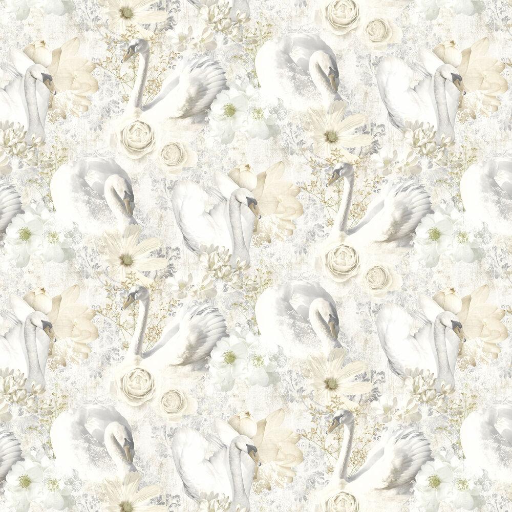 Gabriella Wallpaper - Beige - by Albany