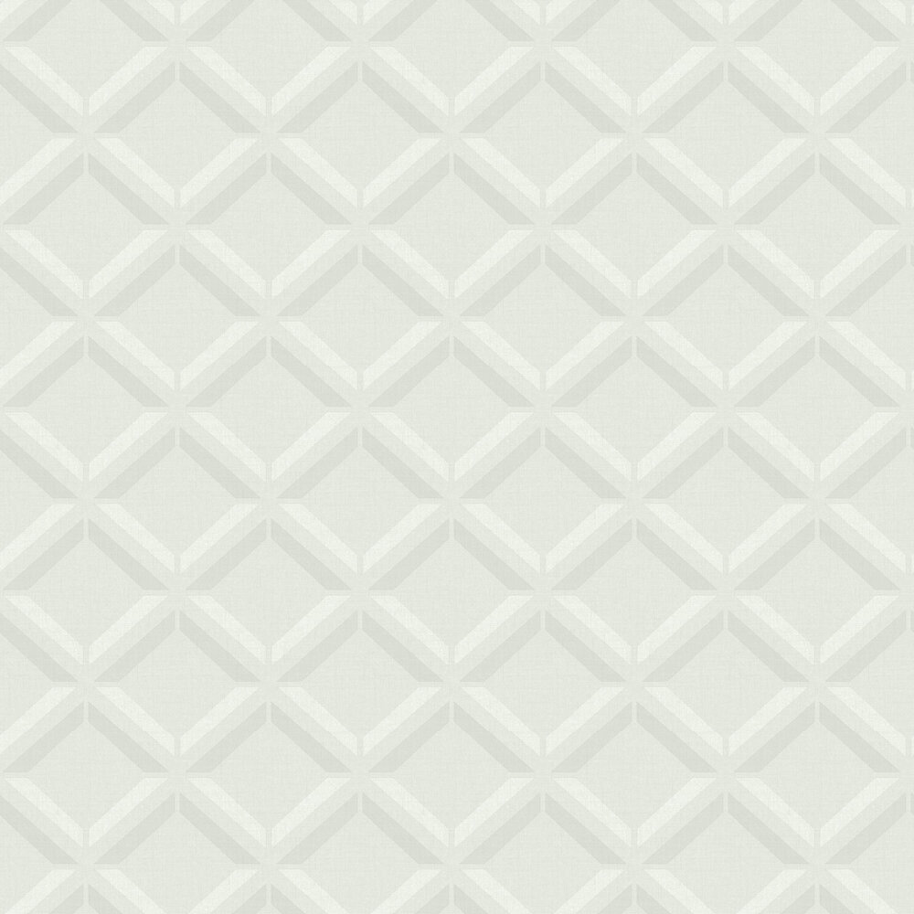 Lana Geo Wallpaper - Light Grey - by Albany