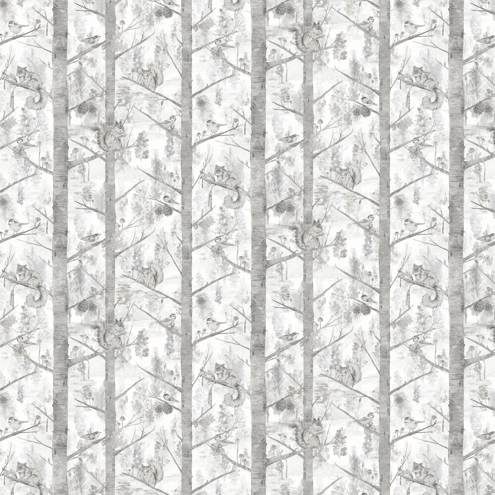 Albany Grizedale Grey Wallpaper - Product code: 90612