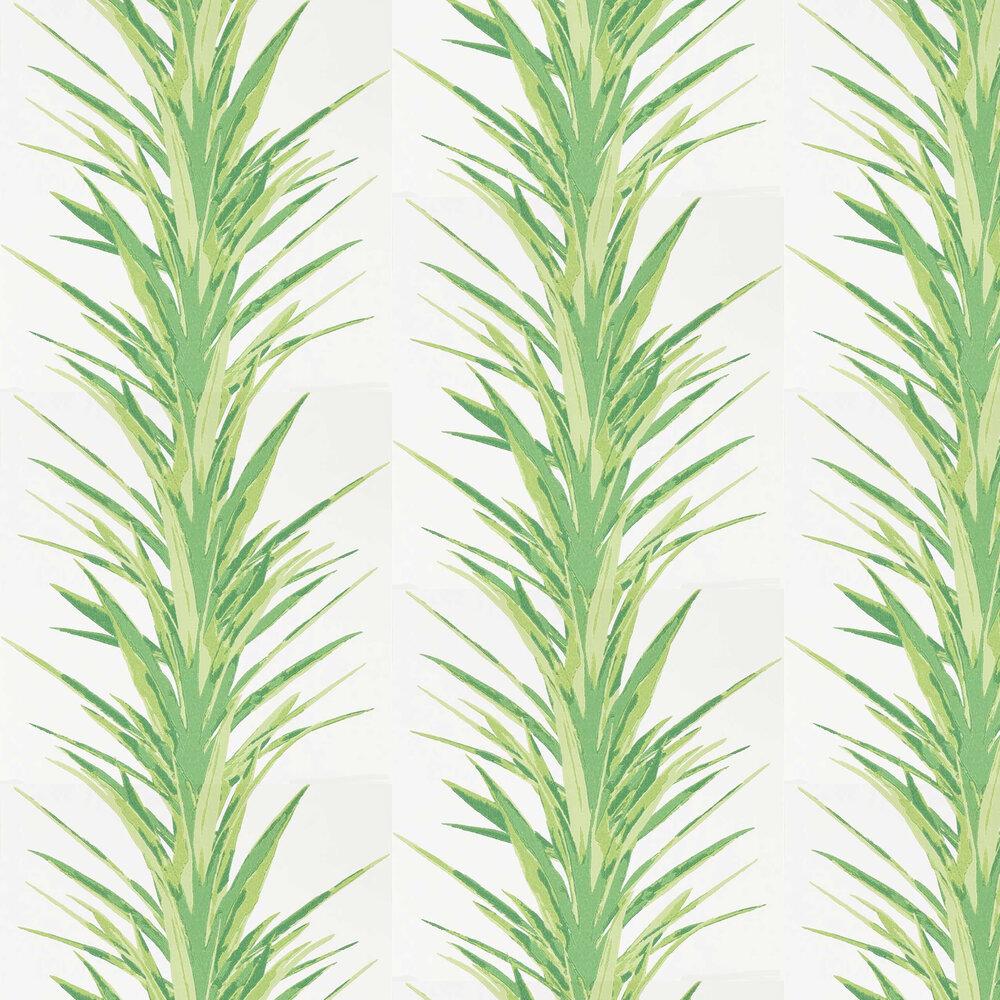 Yucca Wallpaper - Botanical Green - by Sanderson