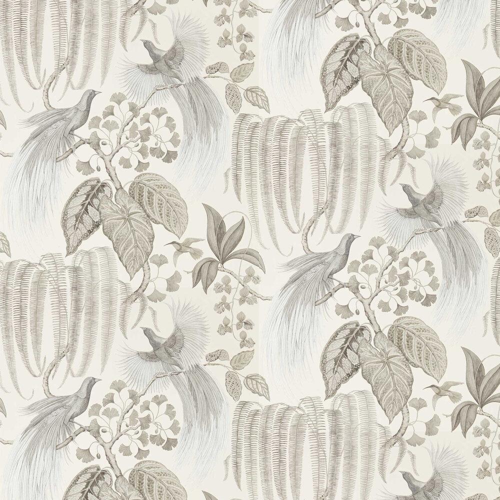 Sanderson Bird of Paradise Linen Wallpaper - Product code: 216652