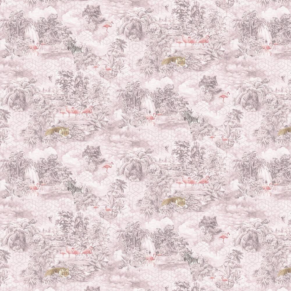 Mayang Wallpaper - Pink - by Albany