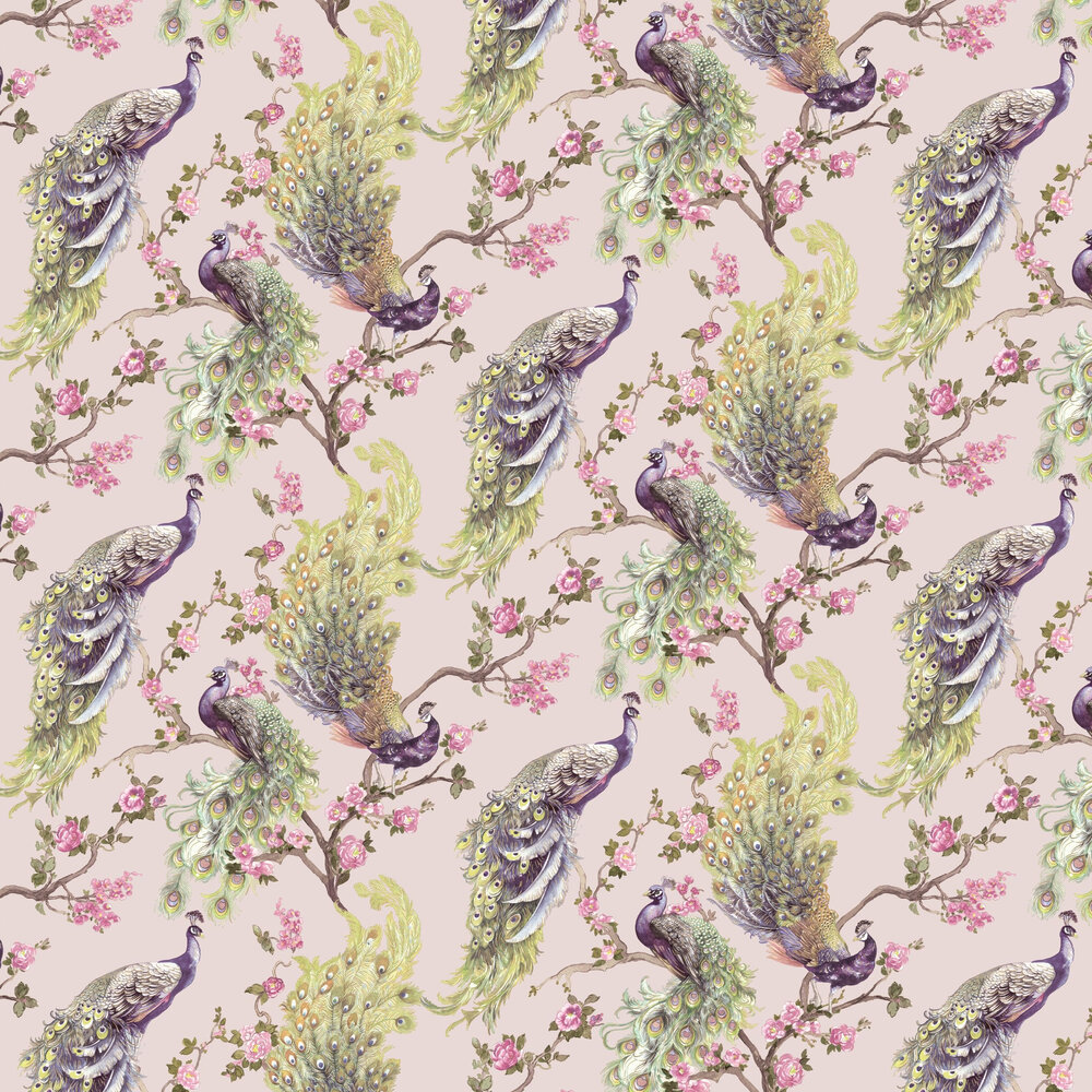 Sana Wallpaper - Pink - by Albany
