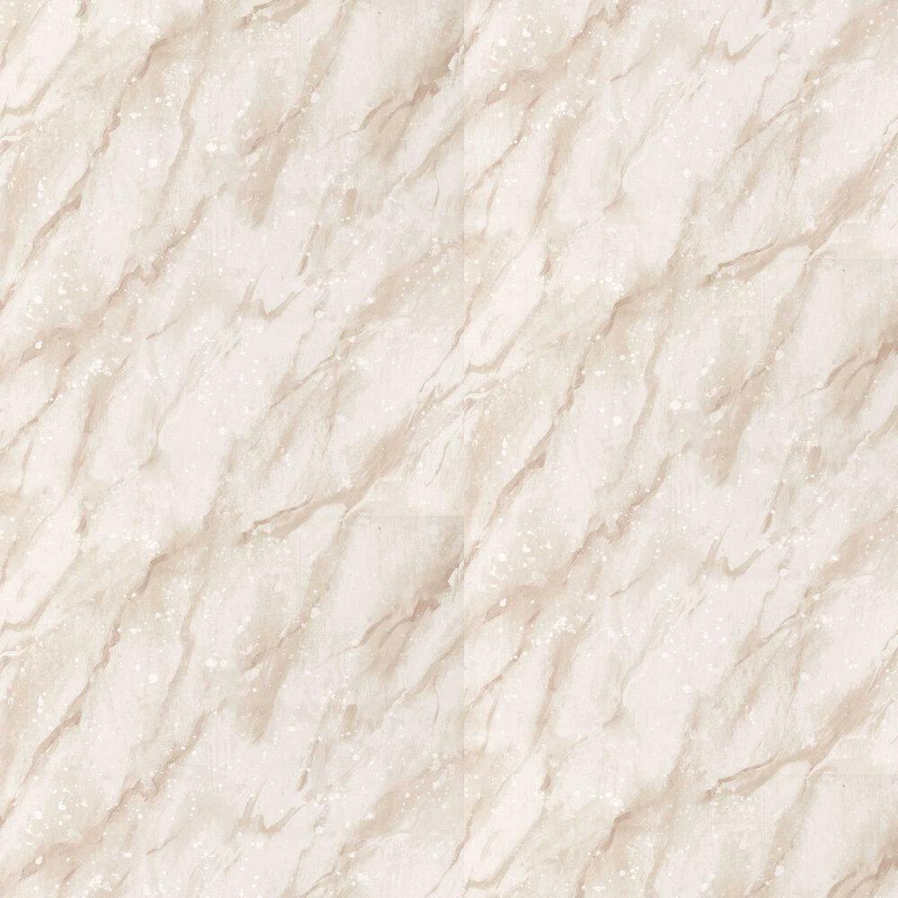 Carrara Grande Wallpaper - Tuberose - by Designers Guild