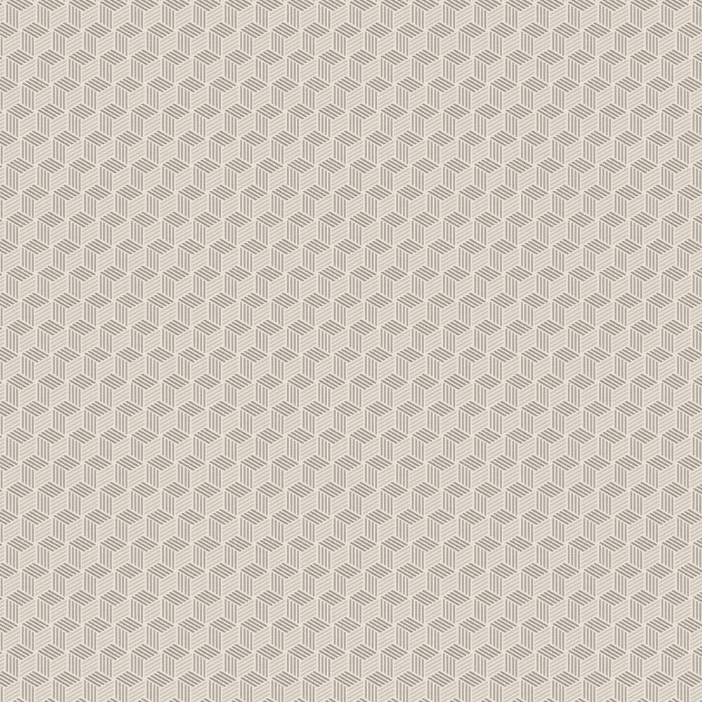 Straw Wallpaper - Silver / Grey - by Coordonne
