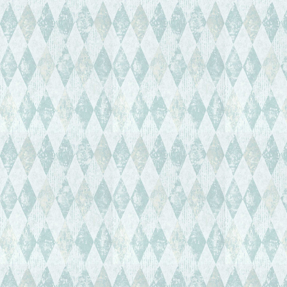 Arlecchino Wallpaper - Sky - by Designers Guild