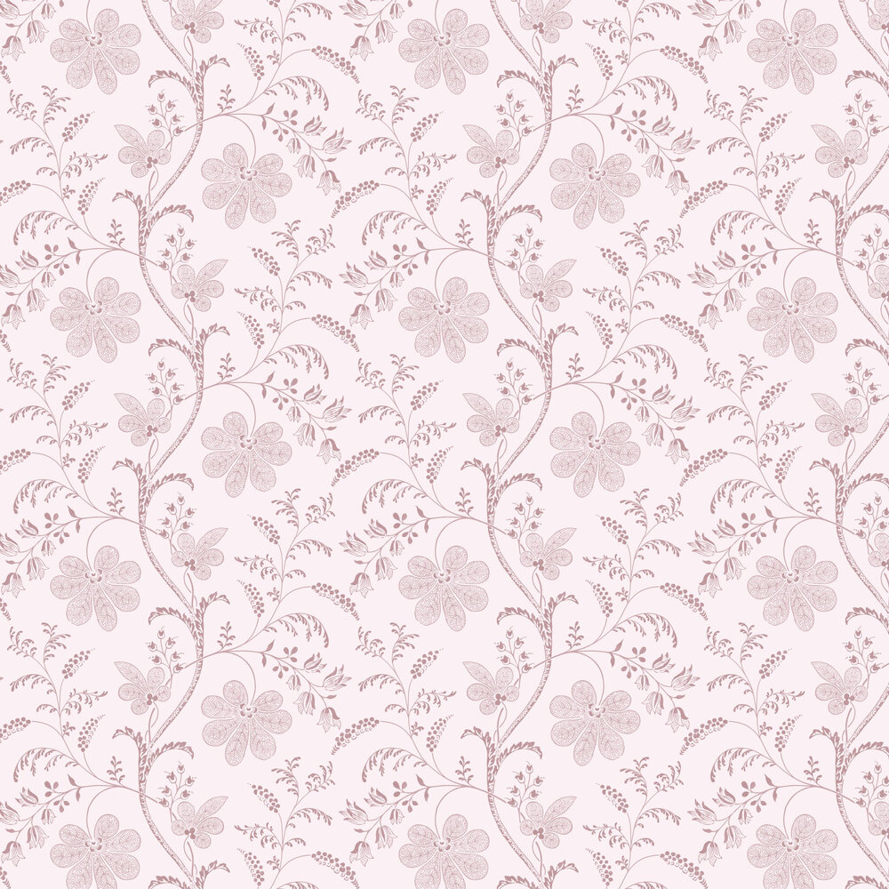 Bedford Square Wallpaper - Hellebore - by Little Greene