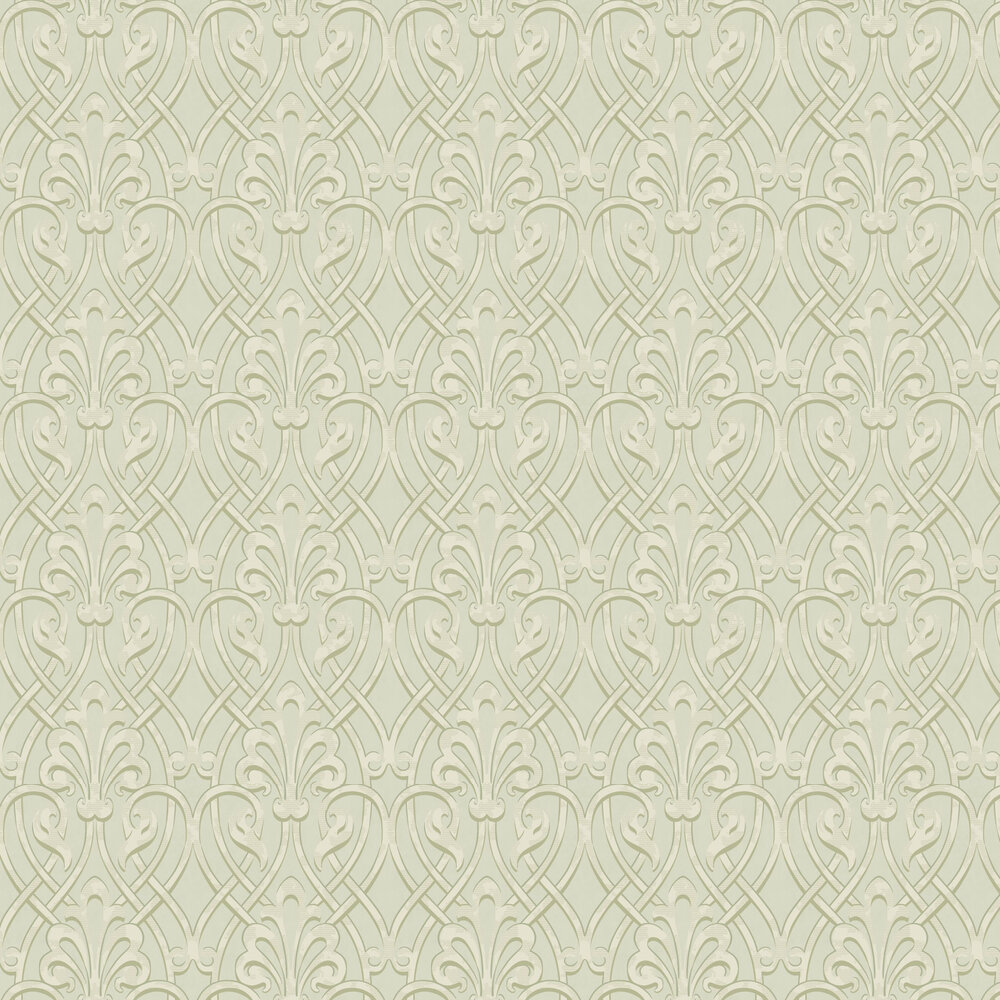 Little Greene Brook Street Laurel Wallpaper - Product code: 0256BKLAURE