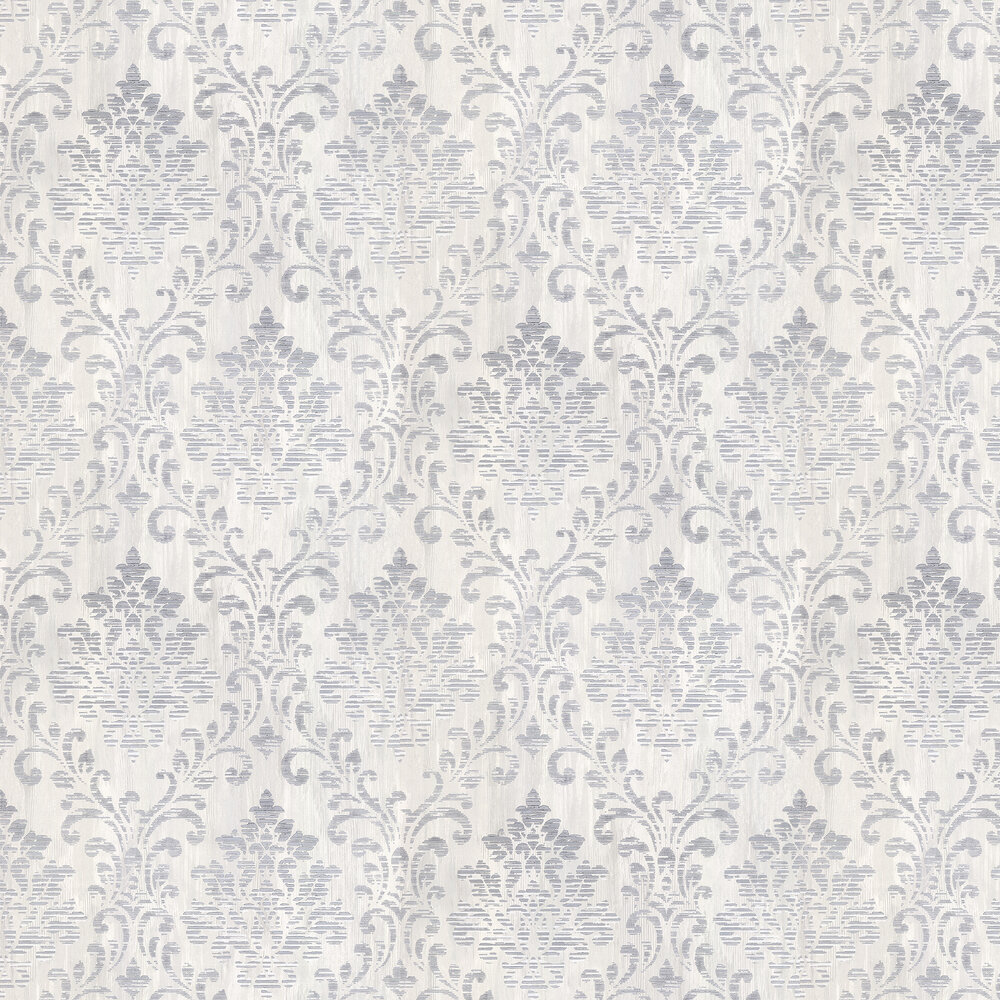 Albany Charice Damask Silver Wallpaper - Product code: 702001