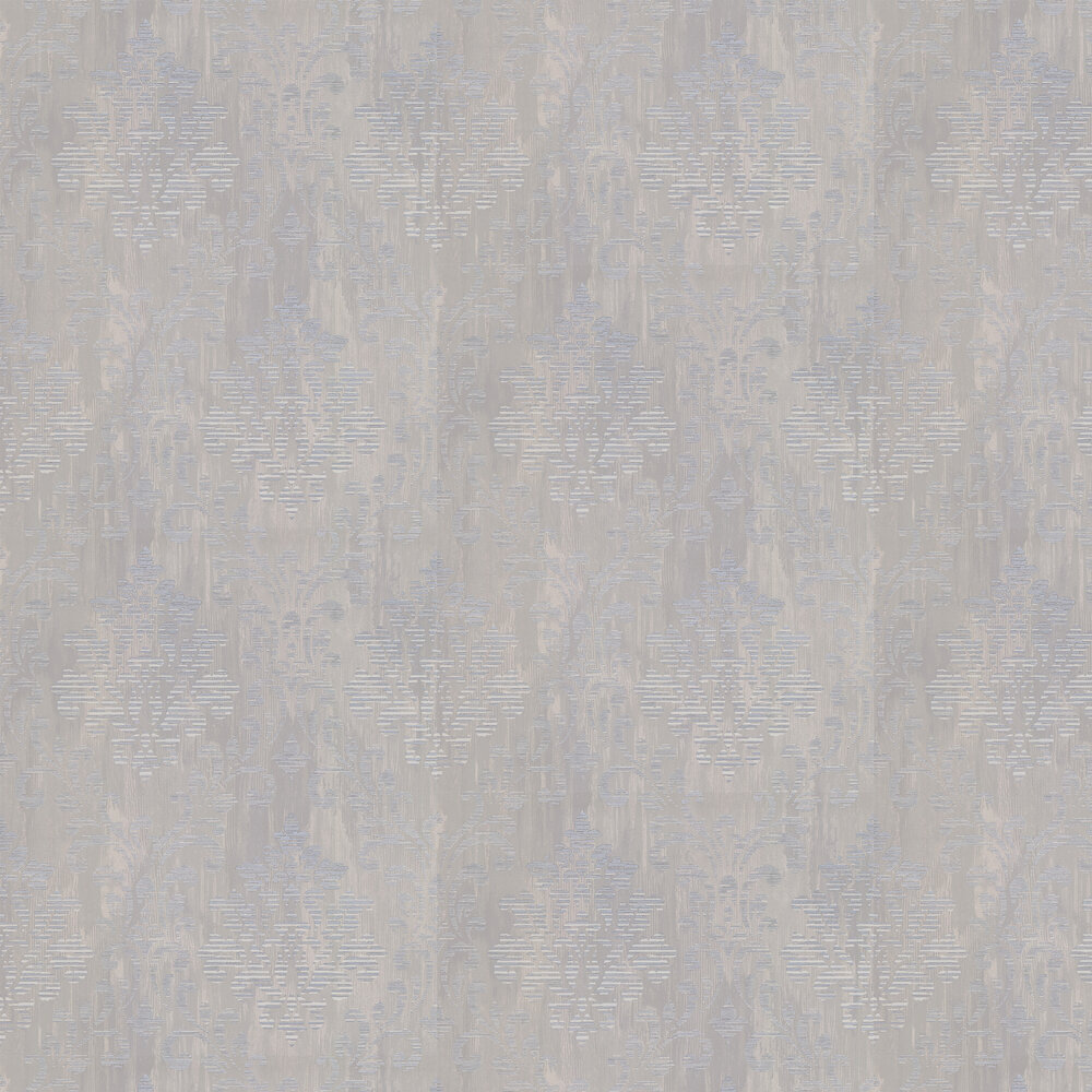 Charice Damask Wallpaper - Grey - by Albany
