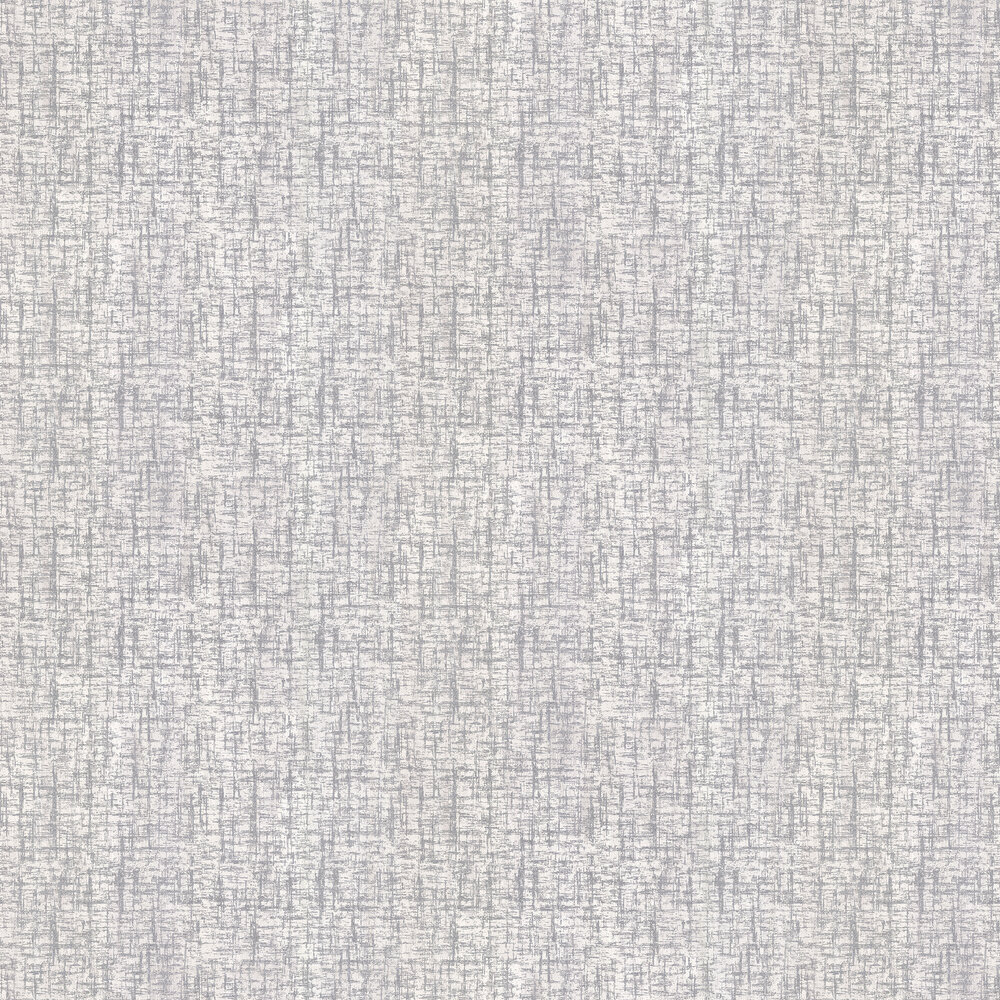 Charice Cross Hatch Wallpaper - Silver - by Albany