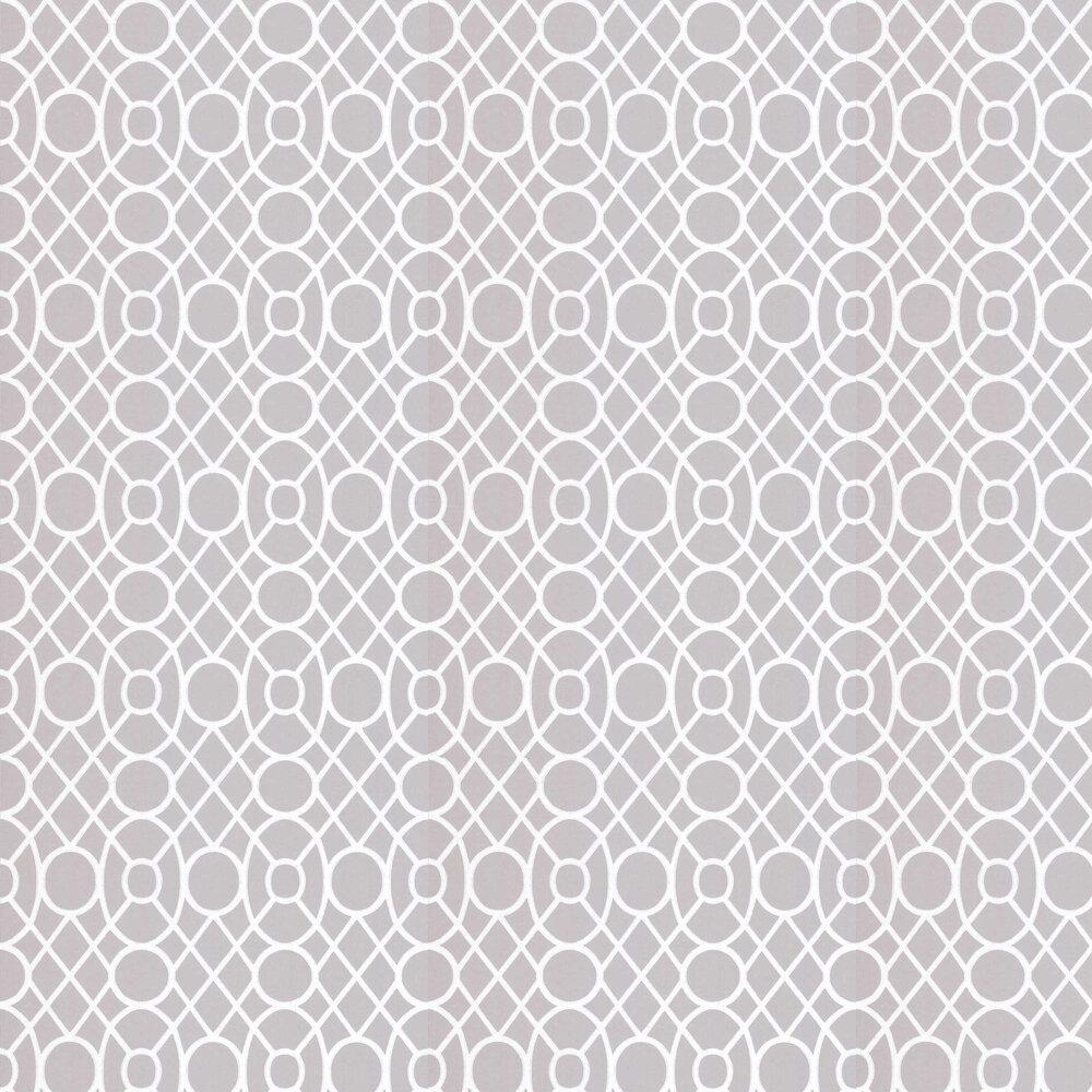 Merletti Wallpaper - Platinum - by Designers Guild