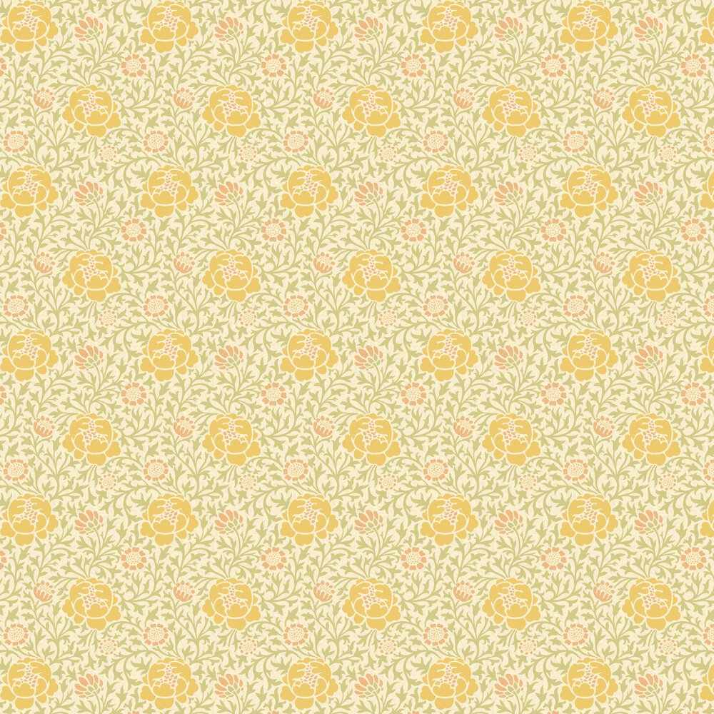 Little Greene Lansdowne Walk Pollen Wallpaper - Product code: 0256LWPOLLE