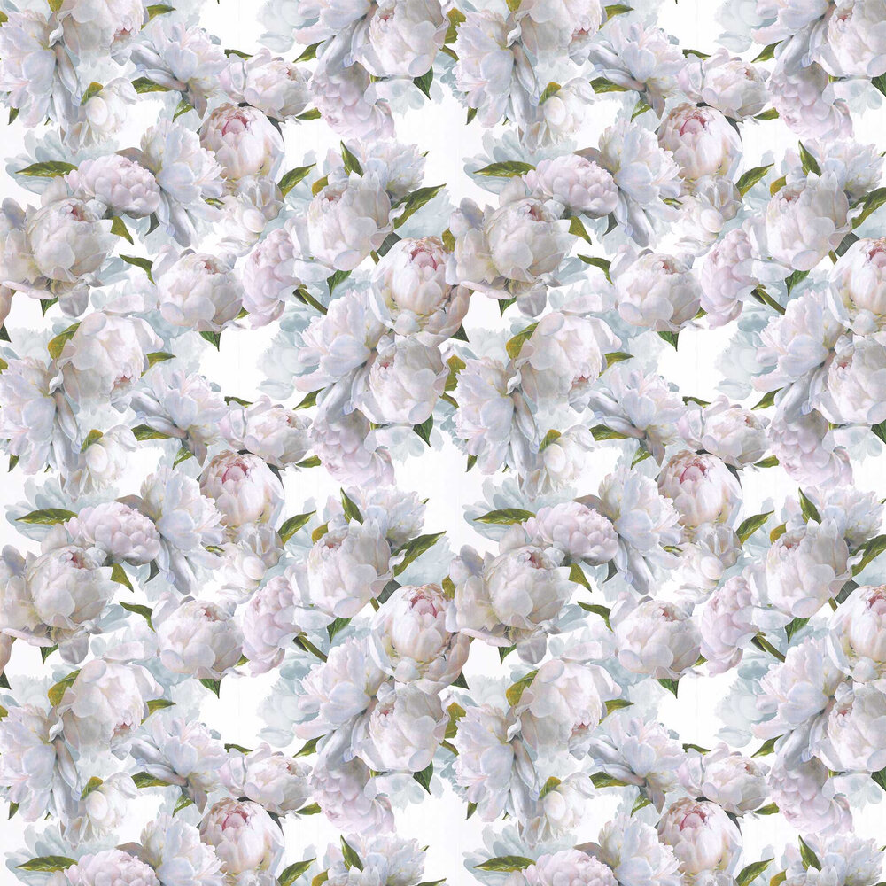 Peonia Wallpaper - Ivory - by Designers Guild