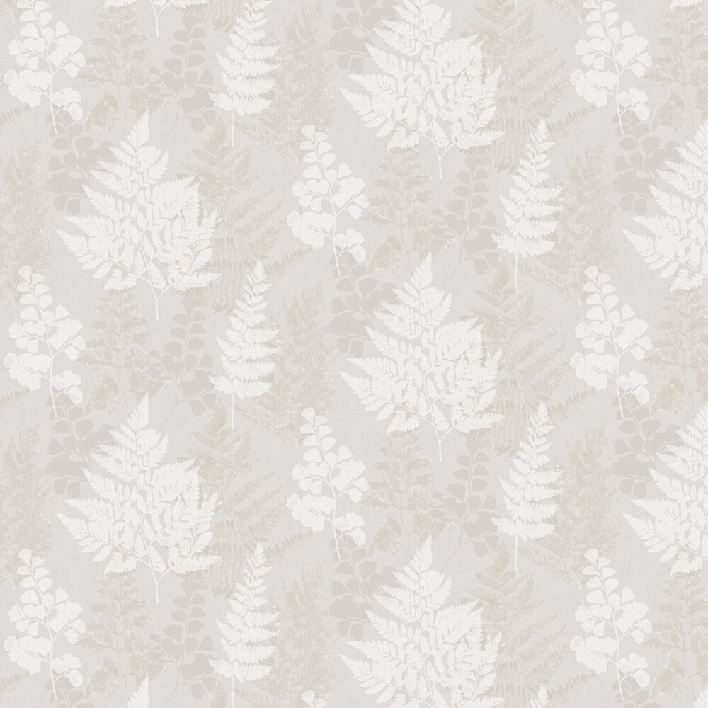 Bramble Wallpaper - Grey and Gold - by Albany