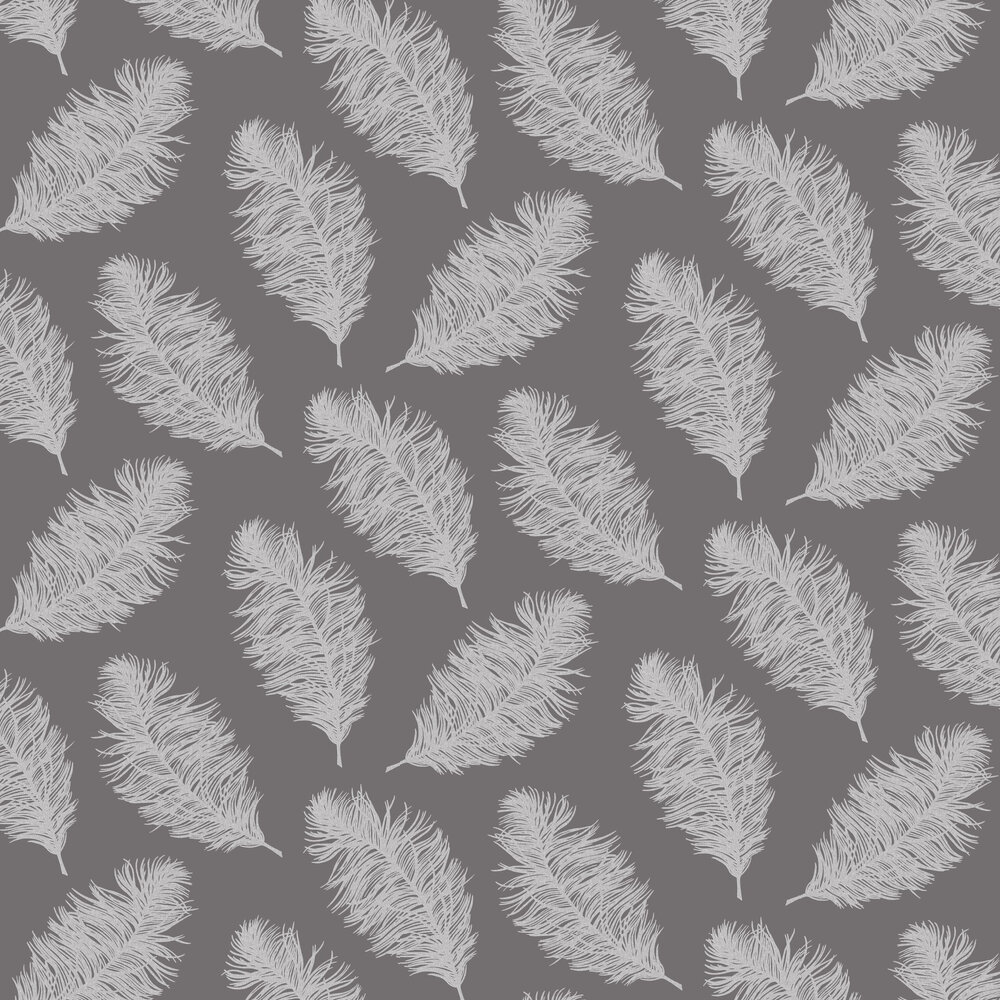 Hawthorn Wallpaper - Grey - by Albany