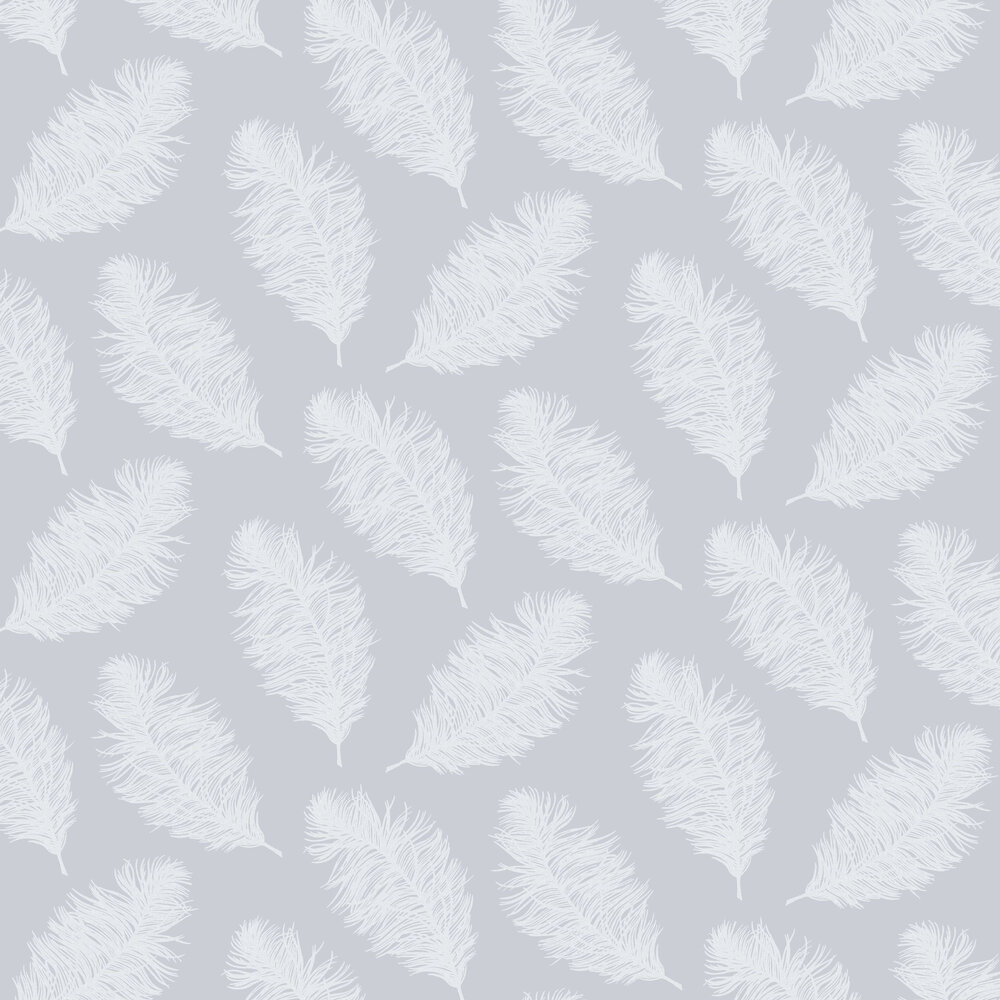 Hawthorn Wallpaper - Pale Blue - by Albany