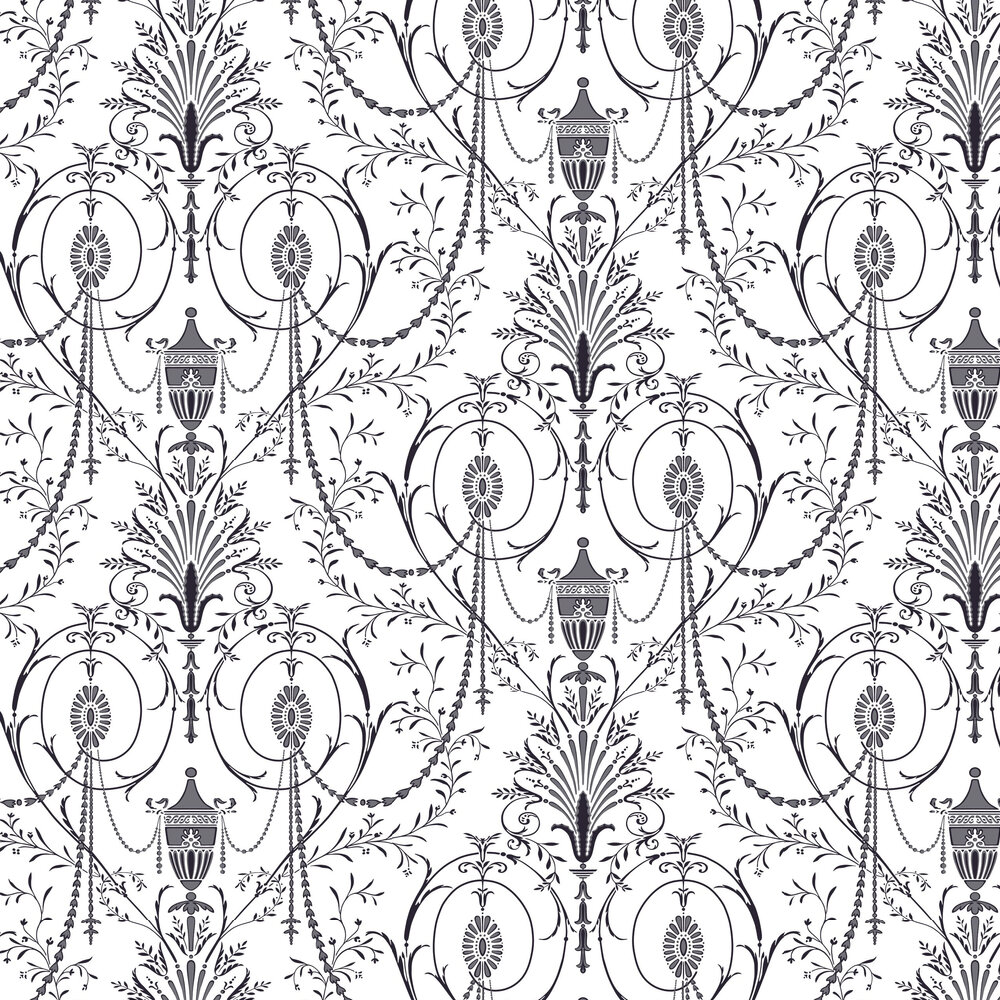 Little Greene Marlborough Glace Wallpaper - Product code: 0256MAGLACE