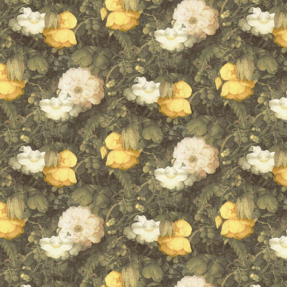 Metropolitan Stories Dutch Floral Yellow / Green Wallpaper - Product code: 36921-1