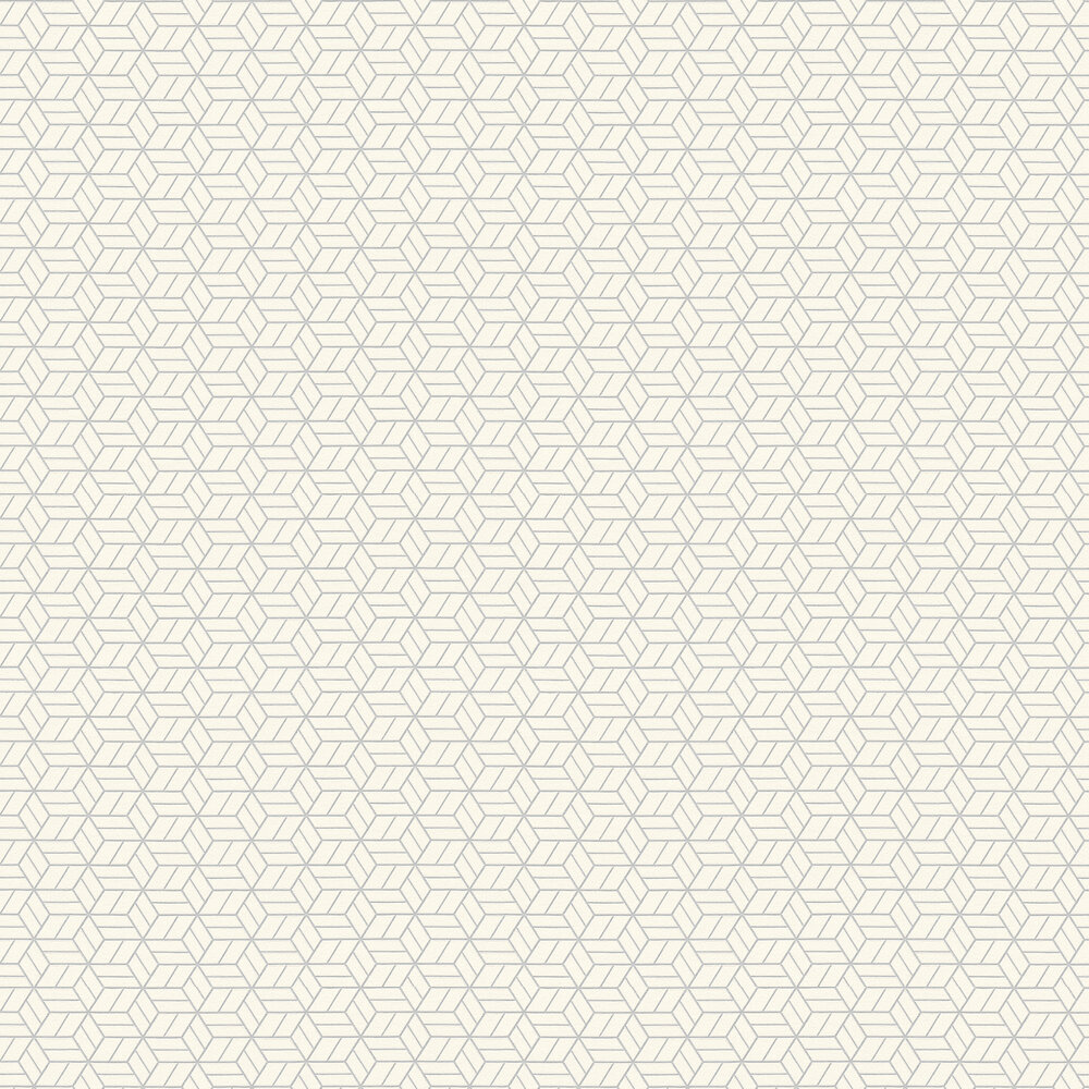 Metropolitan Stories Geo Hexagon White Wallpaper - Product code: 36920-3