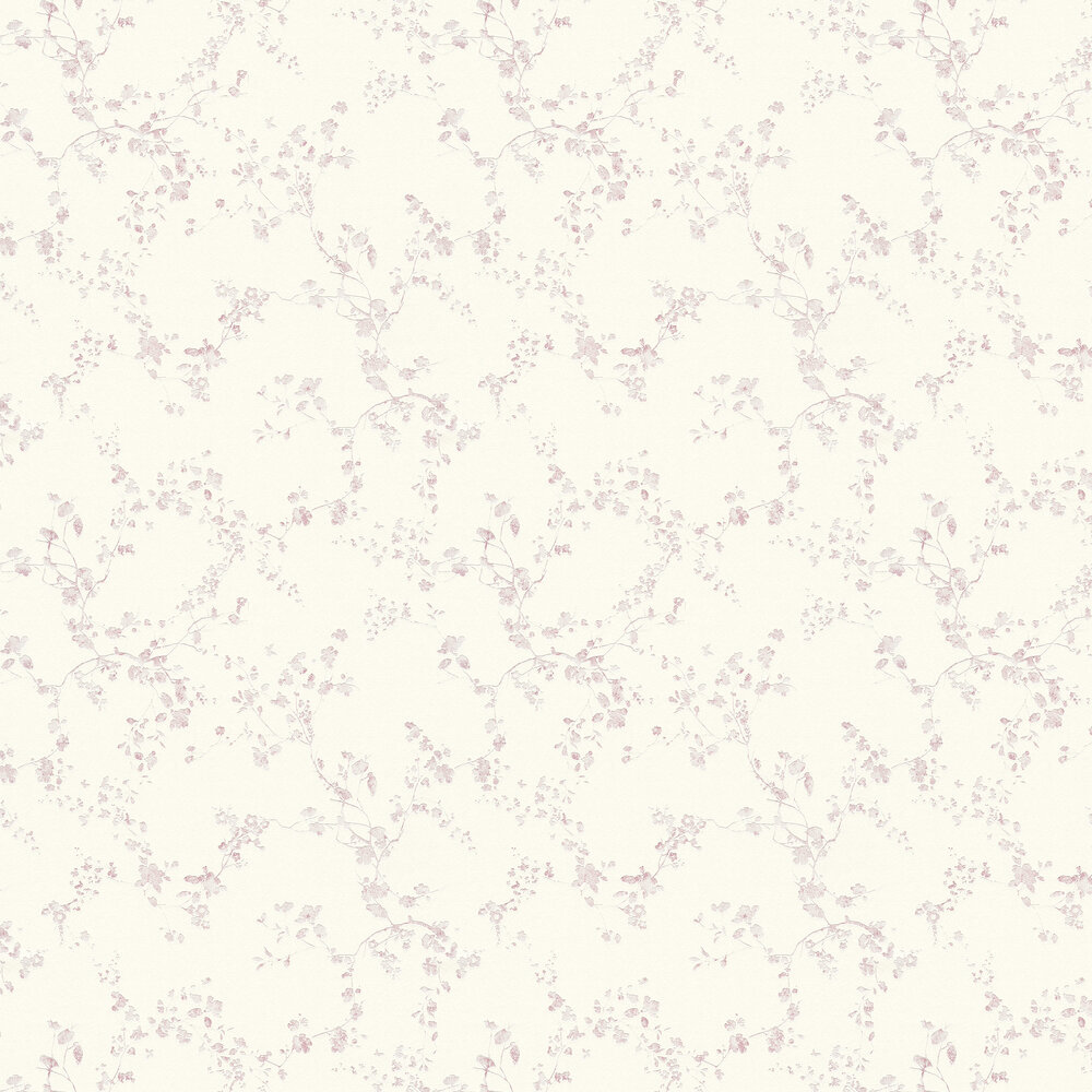 Spring Blossom Wallpaper - Pink - by Metropolitan Stories
