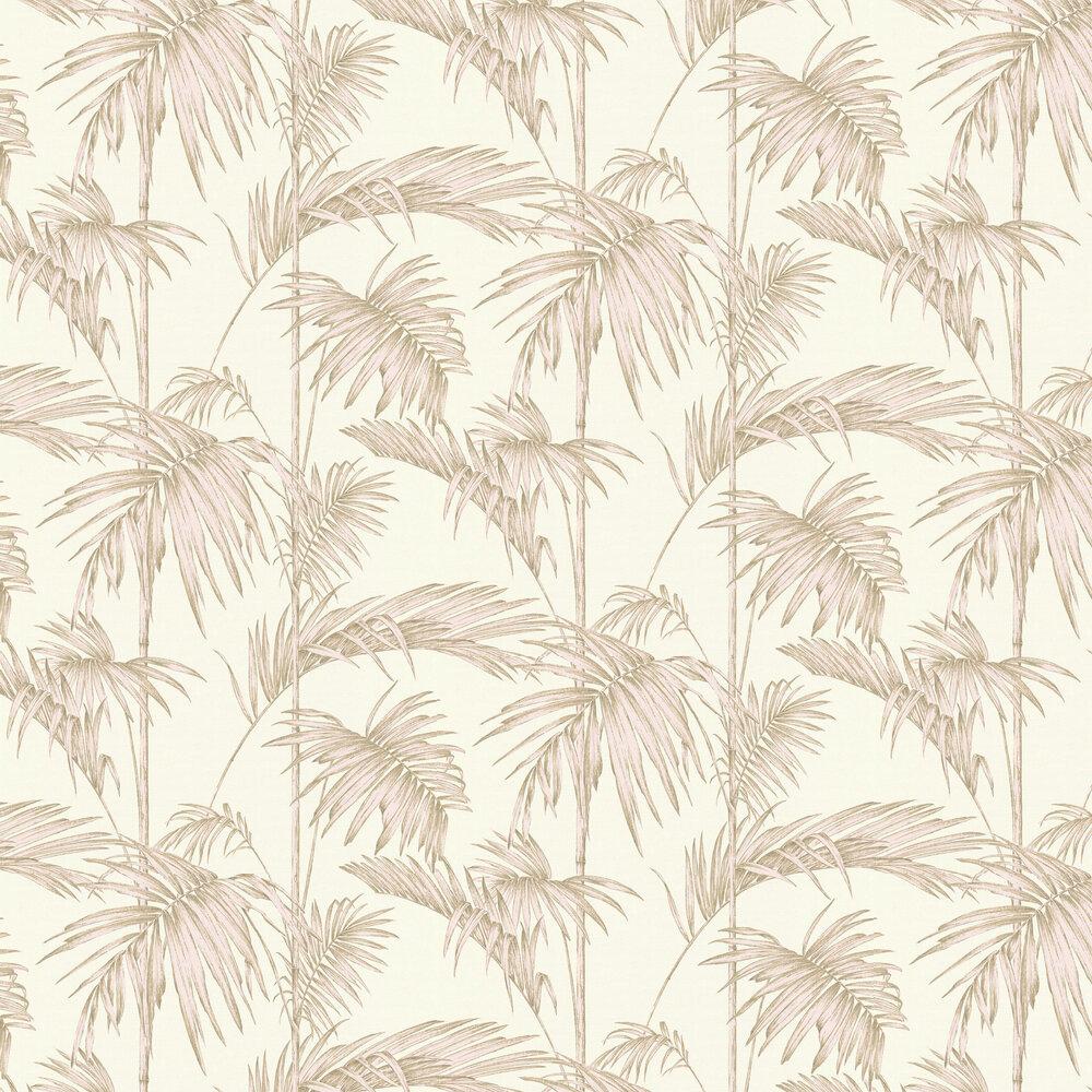 Palm Wallpaper - Blush - by Metropolitan Stories