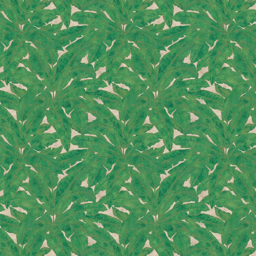 Metropolitan Stories Jungle Leaf Emerald Wallpaper - Product code: 36927-3