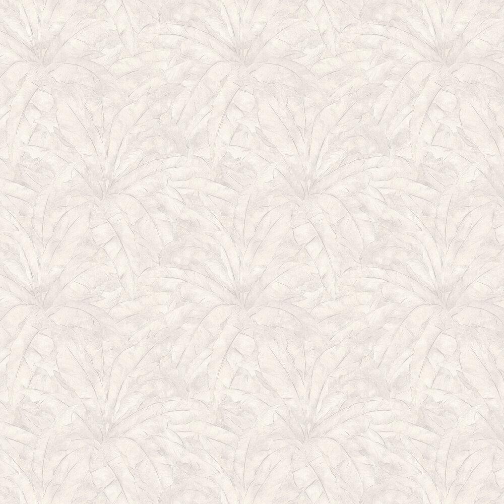 Jungle Leaf Wallpaper - White - by Metropolitan Stories