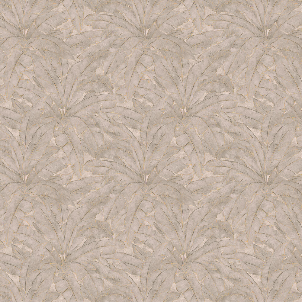 Metropolitan Stories Jungle Leaf Taupe Wallpaper - Product code: 36927-5