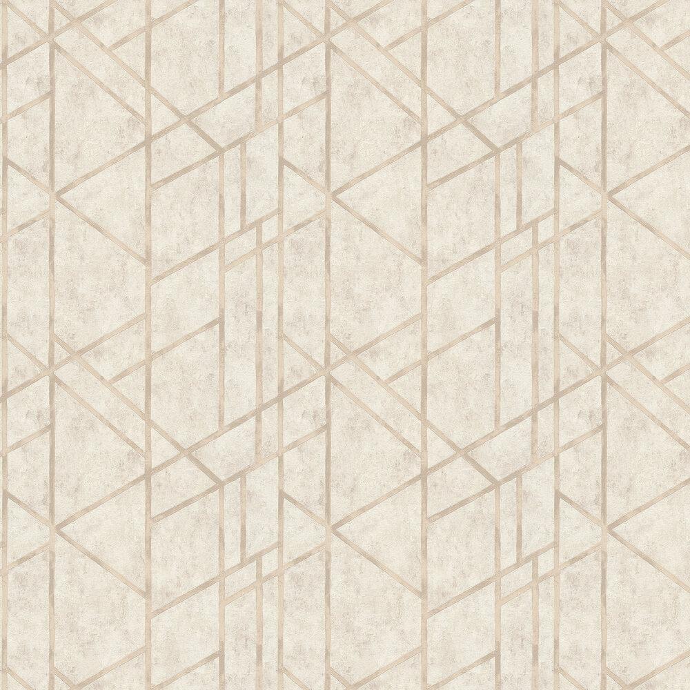 Geometric Wallpaper - Stone - by Metropolitan Stories