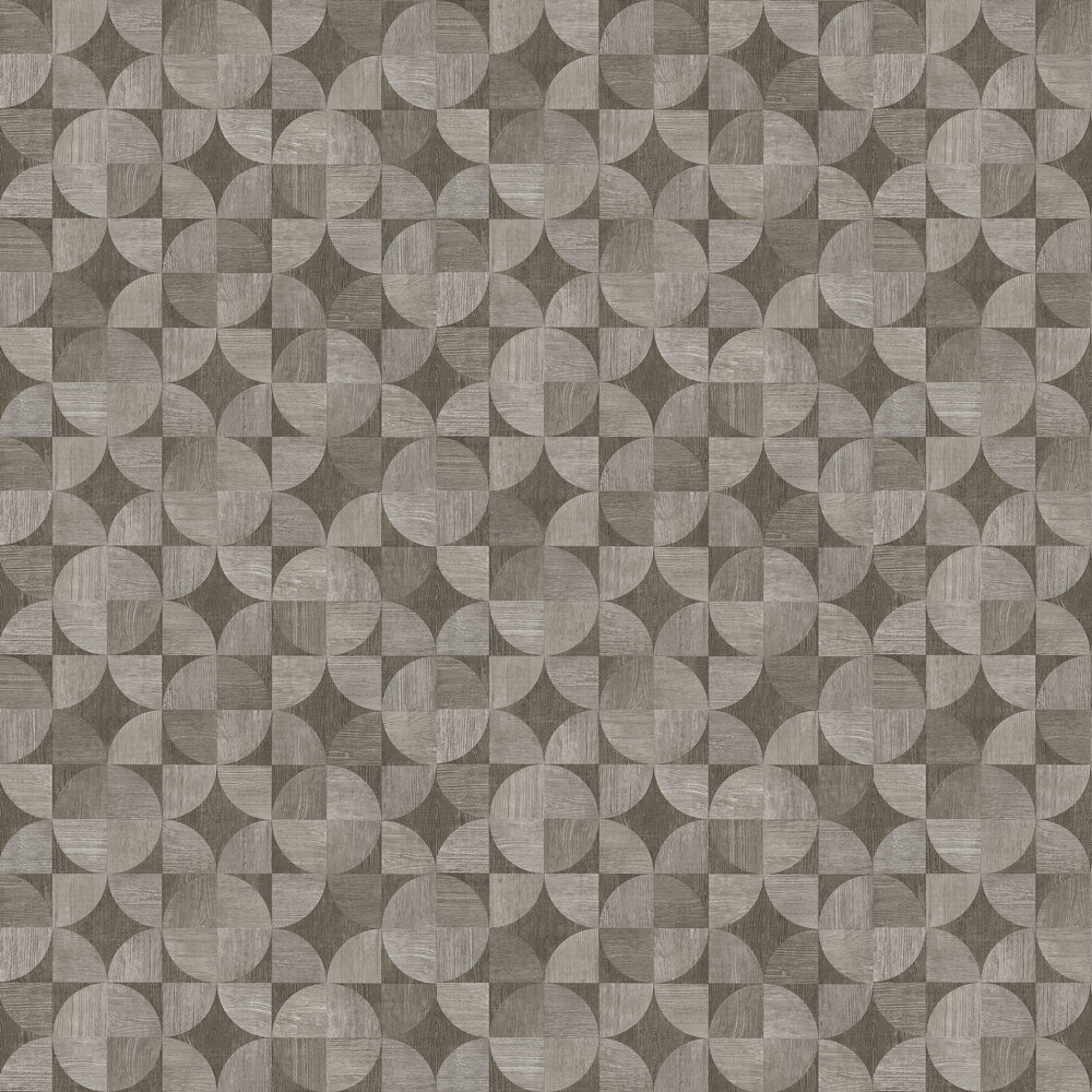 Metropolitan Stories Wood Geo Grey Wallpaper - Product code: 36913-2