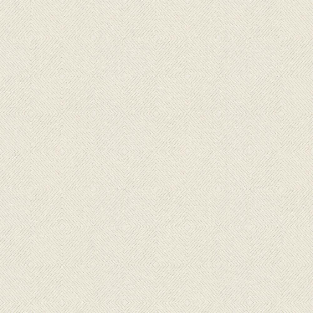 Geometric Wallpaper - White - by Metropolitan Stories