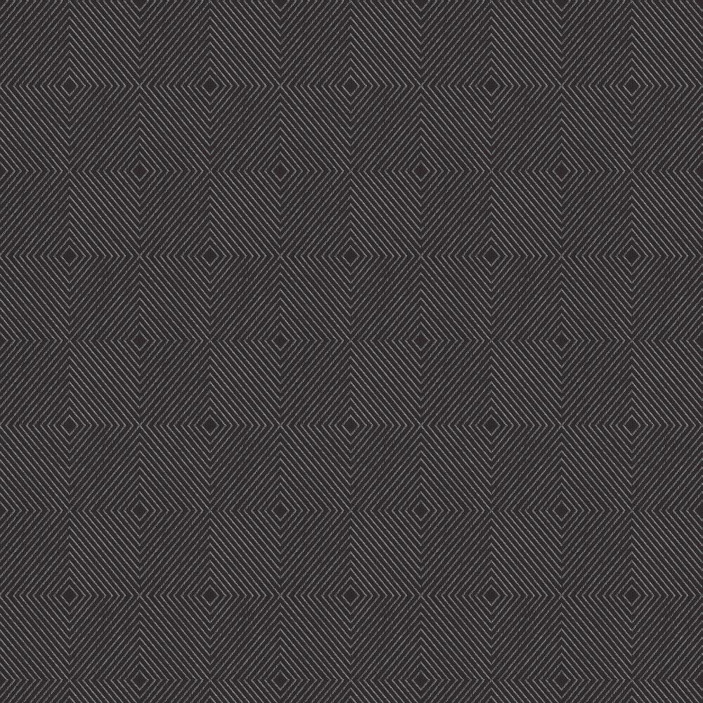 Geometric Wallpaper - Black - by Metropolitan Stories