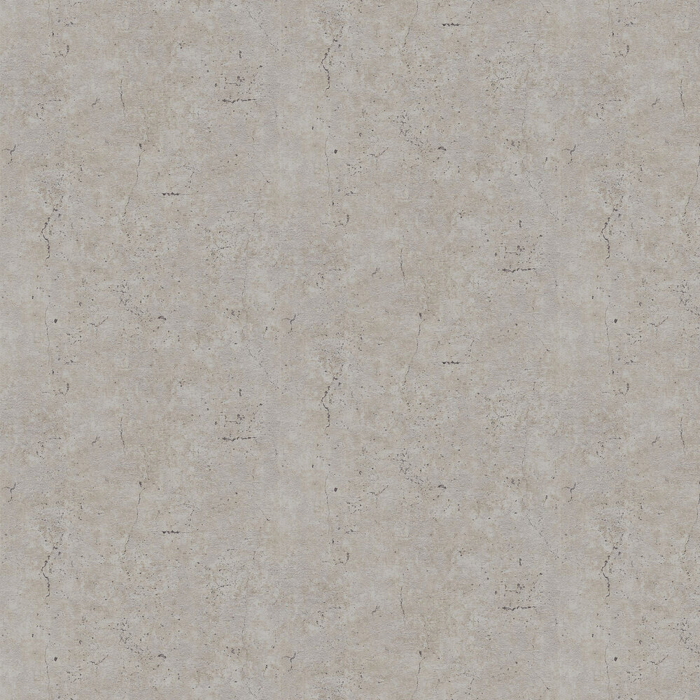 Concrete Wallpaper - Taupe - by Metropolitan Stories