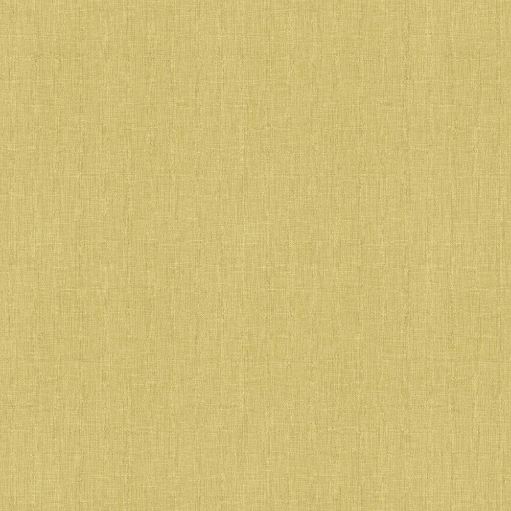Metropolitan Stories Linen Weave Yellow Wallpaper - Product code: 36922-1