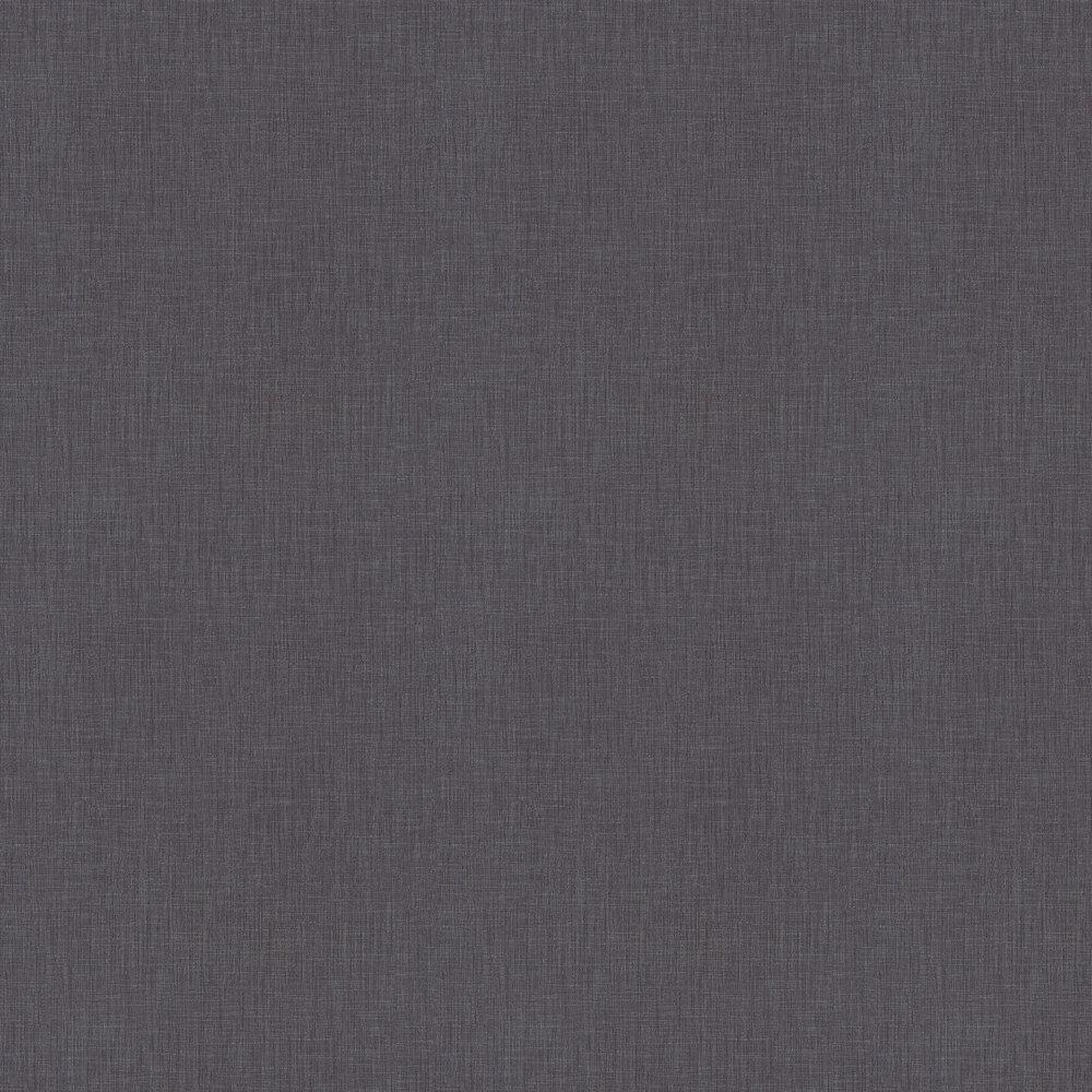 Linen Weave Wallpaper - Charcoal Grey - by Metropolitan Stories