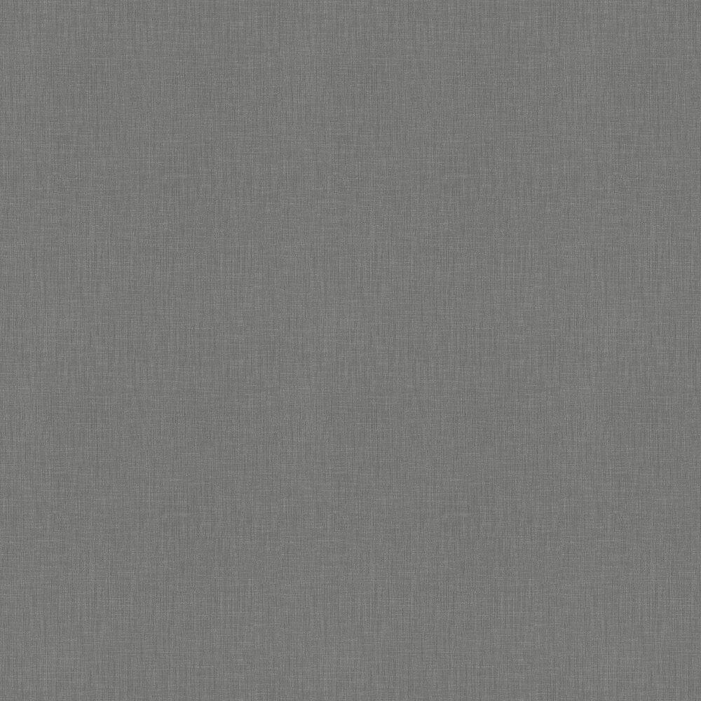 Linen Weave Wallpaper - Grey - by Metropolitan Stories