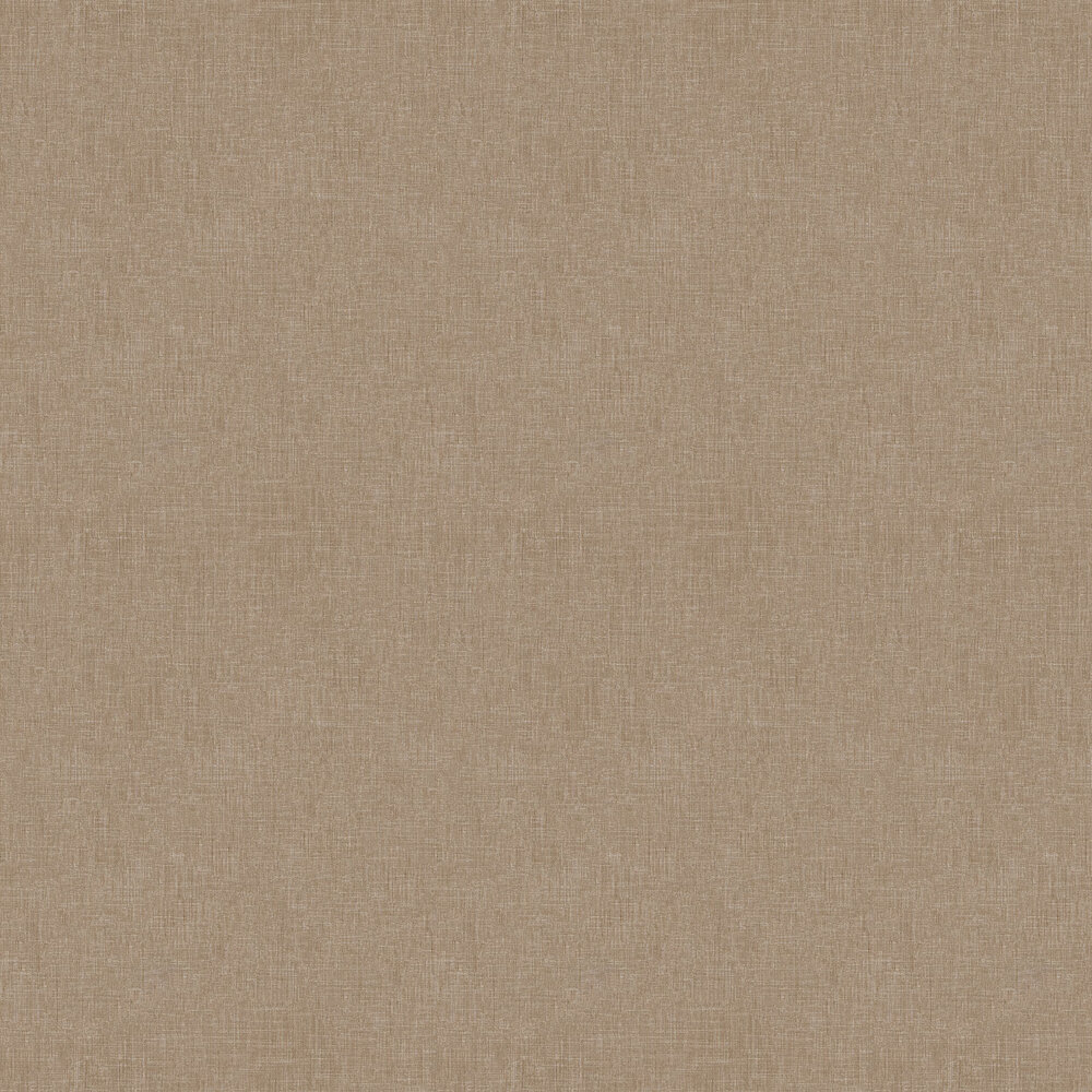 Fabric Effect Wallpaper - Brown - by Metropolitan Stories