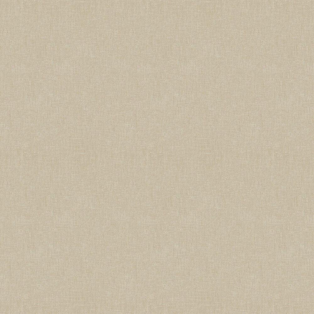 Fabric Effect Wallpaper - Taupe - by Metropolitan Stories