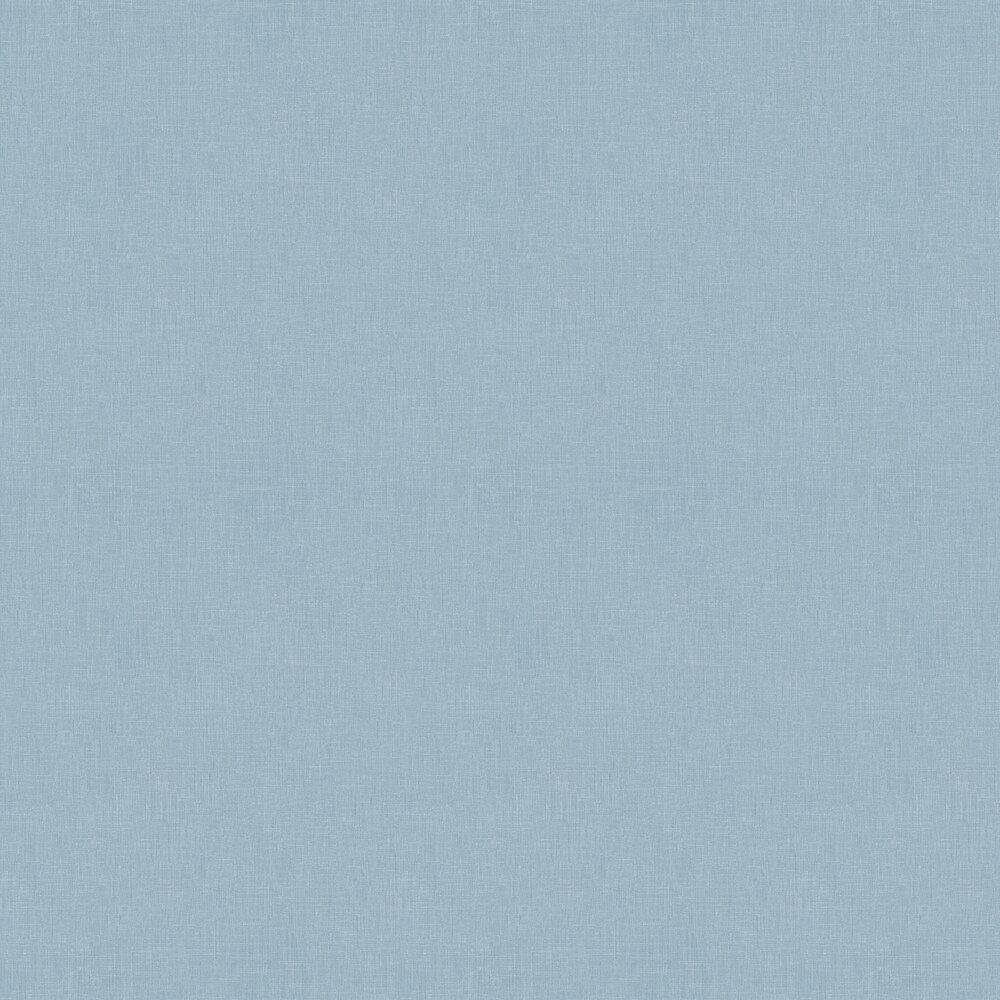 Fabric Effect Wallpaper - Blue - by Metropolitan Stories