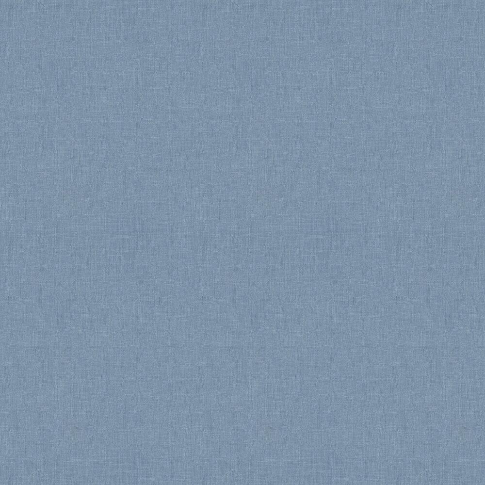 Fabric Effect Wallpaper - Dark Blue - by Metropolitan Stories