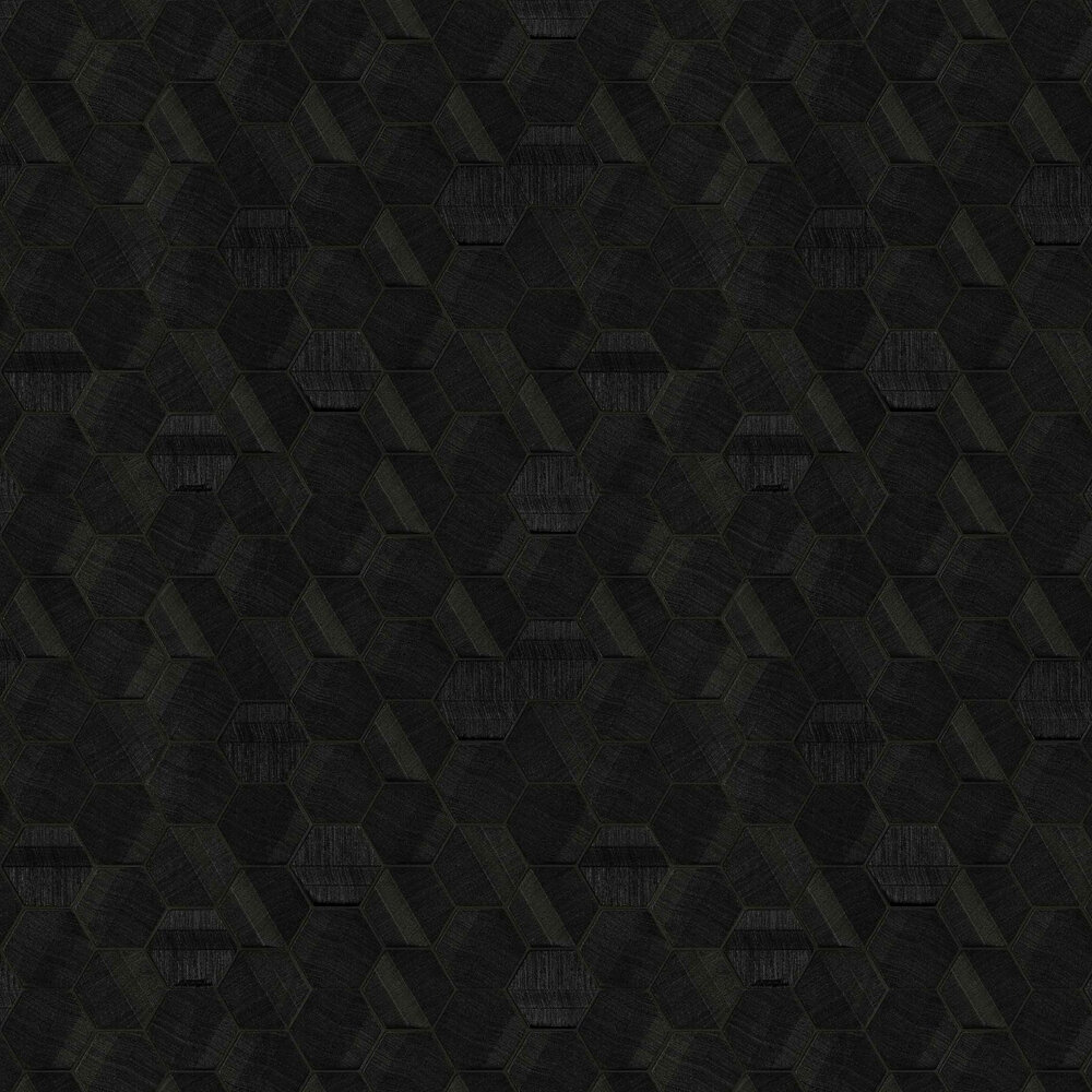 Lamborghini Murcielago Hexagon Feature Black Wallpaper - Product code: Z44801