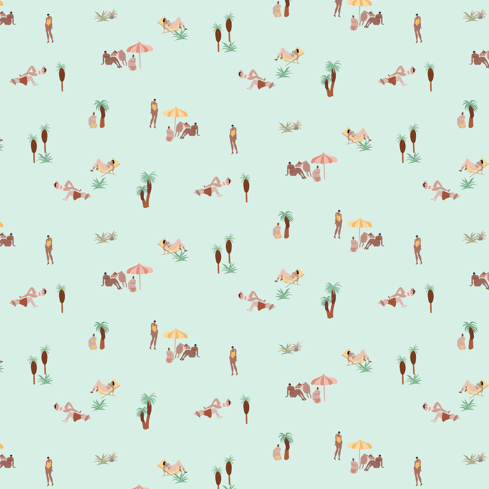 Coordonne One day at the beach Ocean Wallpaper - Product code: 8000041